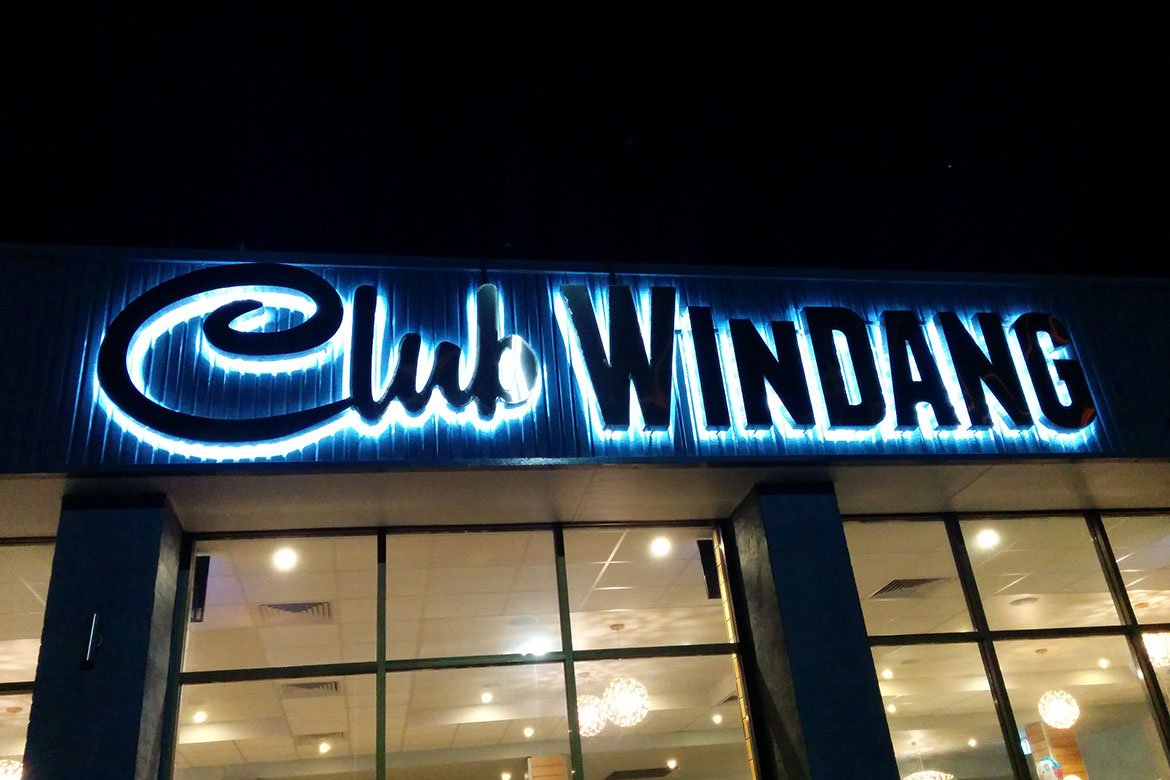 Club Windang LED Signs