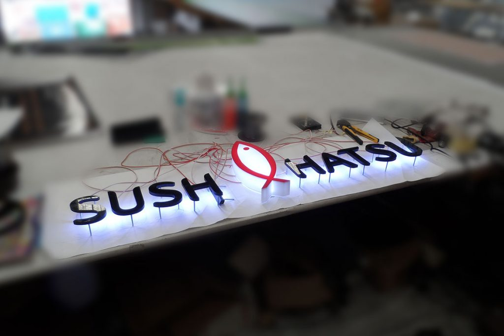 SUSH Shop LED Signs