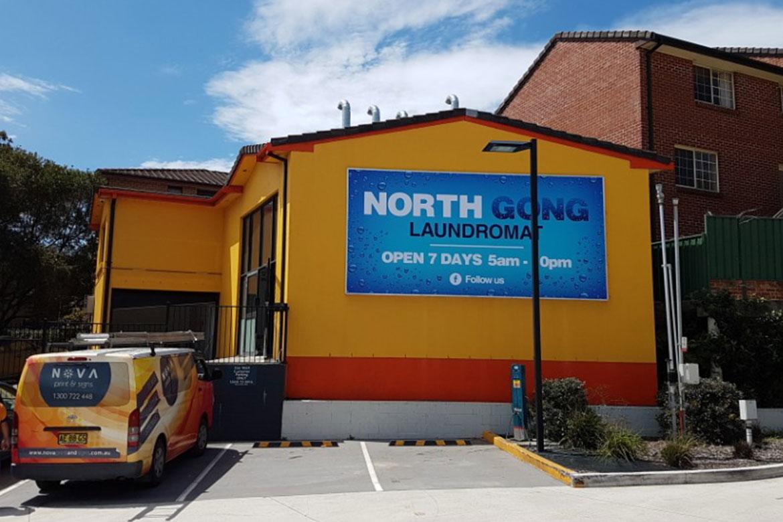 NORTH Gong Billboard