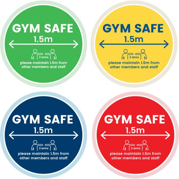 GymSafe Floor Decals